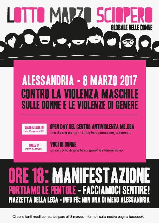 8.3.2017 – Lotto Marzo sciopero globale delle donne contro la violenza maschile e di genere