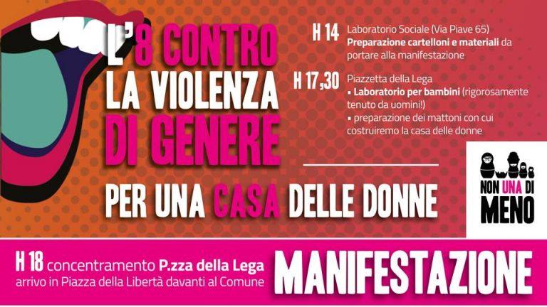 8.3.2018 – L'8 marzo contro la violenza di genere e per una Casa delle Donne ad Alessandria