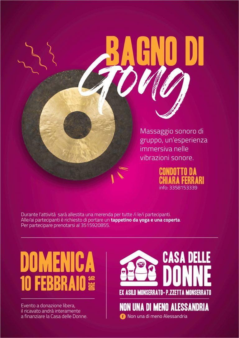 10.2.2019 – Bagno di gong, un'esperienza nelle vibrazioni sonore