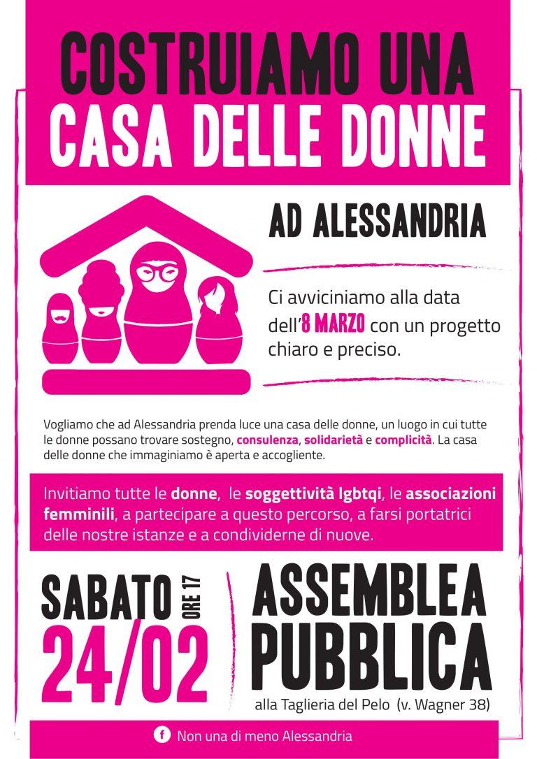 24.2.2018 – Assemblea pubblica per costruire una Casa delle Donne in città