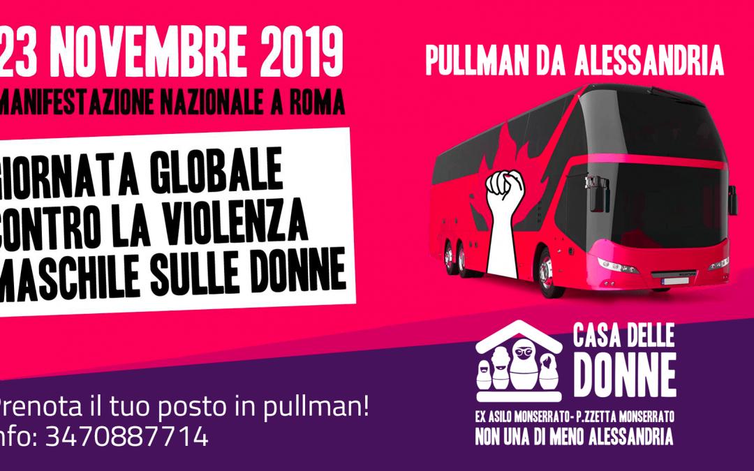 Manifestazione 23N – Pullman da Alessandria