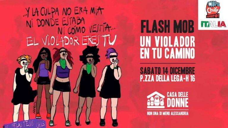 Flashmob – Un Violador en tu Camino – sabato 14 dicembre