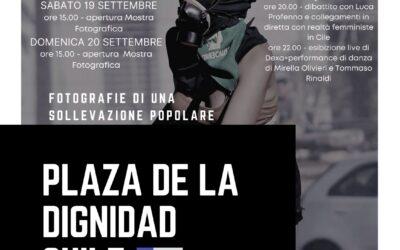 """Con MIA arriva alla Casa la mostra fotografica """"Plaza de la dignidad – fotografie di una sollevazione popolare"""""""